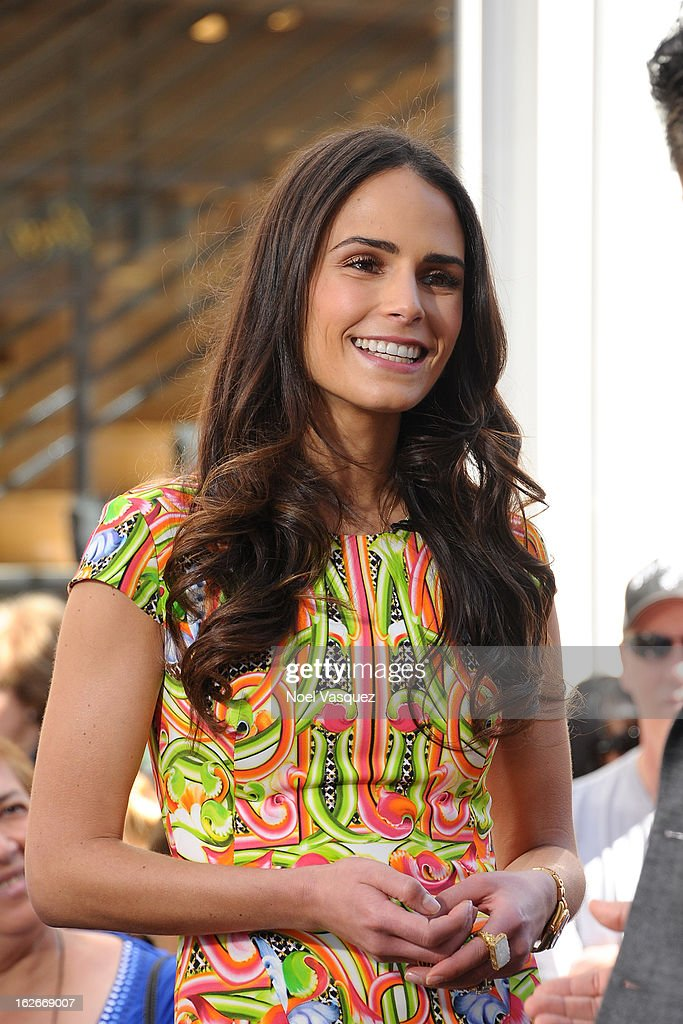 <a gi-track='captionPersonalityLinkClicked' href=/galleries/search?phrase=Jordana+Brewster&family=editorial&specificpeople=207174 ng-click='$event.stopPropagation()'>Jordana Brewster</a> visits Extra at The Grove on February 25, 2013 in Los Angeles, California.