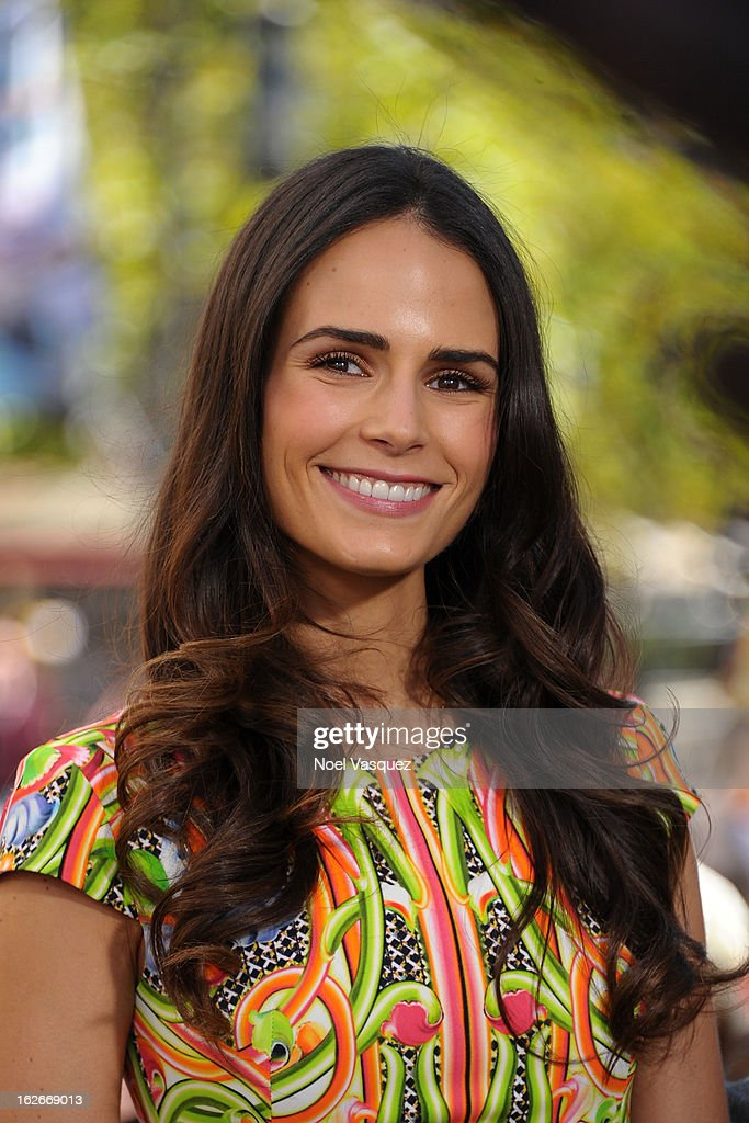 Jordana Brewster visits Extra at The Grove on February 25, 2013 in Los Angeles, California.