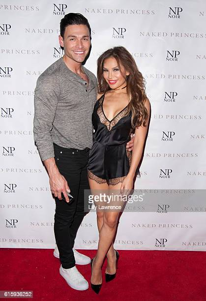 Jordana Woodland and guest attend Jordana Woodland Birthday Bash and NP Noir Debut at HYDE Sunset Kitchen Cocktails on October 15 2016 in West...