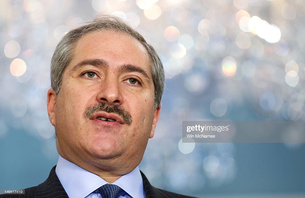 Jordanian Foreign Minister Nasser Judeh makes brief remarks before meeting with US Secretary of State HIllary Clinton at the State Department March 2...