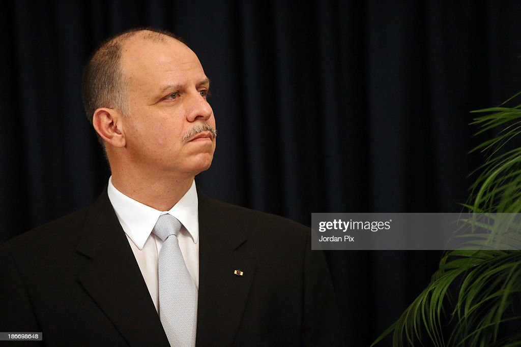 Jordanian Prince Faisal Bin Al Hussein attends the throne opening ceremony of the first ordinary session of the 17th Parliament on November 3, 2013 in Amman, Jordan.
