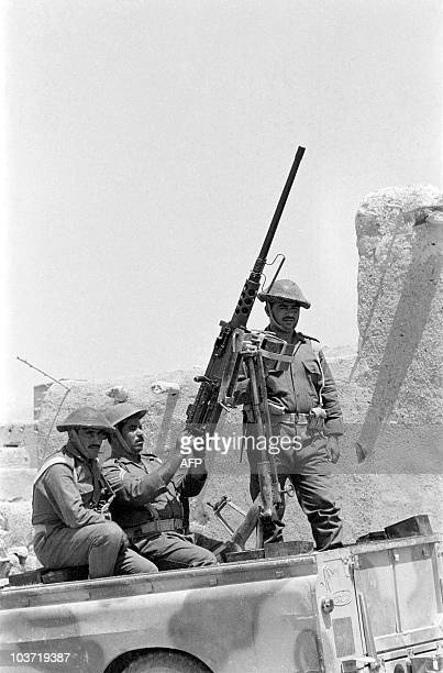 Jordanian soldiers patrol on October 29 1970 in the Jordan valley In September 1970 King Hussein of Jordan decided to put an end to the Palestinian...