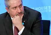 Jordan's Foreign Minister Nasser Judeh takes part in the White House Summit to Counter Violent Extremism at the State Department on February 19 2015...