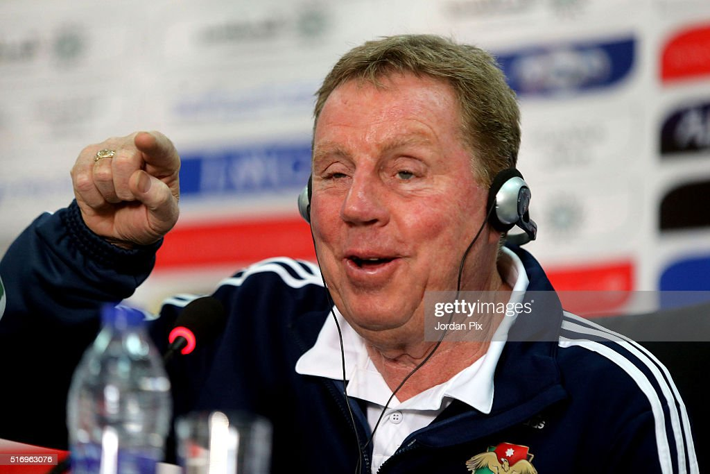 Harry Redknapp Press Conference
