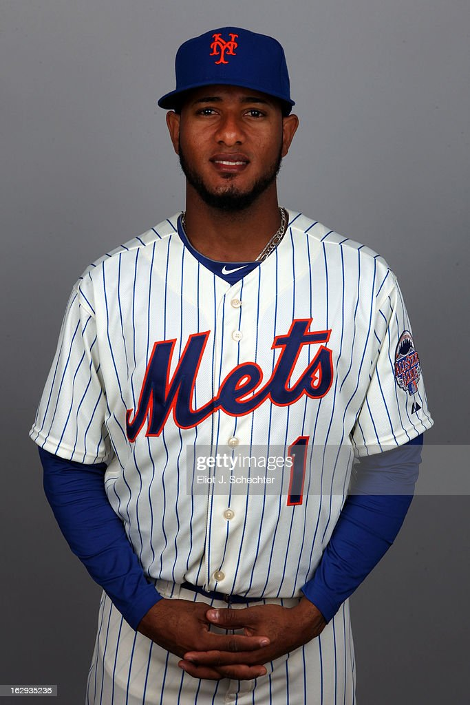 Jordany Valdespin #1 of the New York Mets poses during Photo Day on February 21, 2013 at Mets Stadium in Port St. Lucie, Florida.