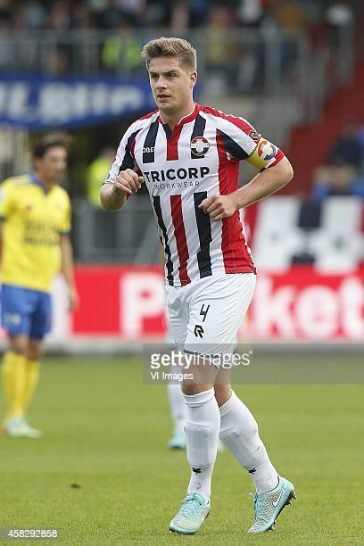 Jordens Peters of Willem II during the Dutch Eredivisie match between Willem II Tilburg and sc Cambuur Leeuwarden at Koning Willem II stadium on...