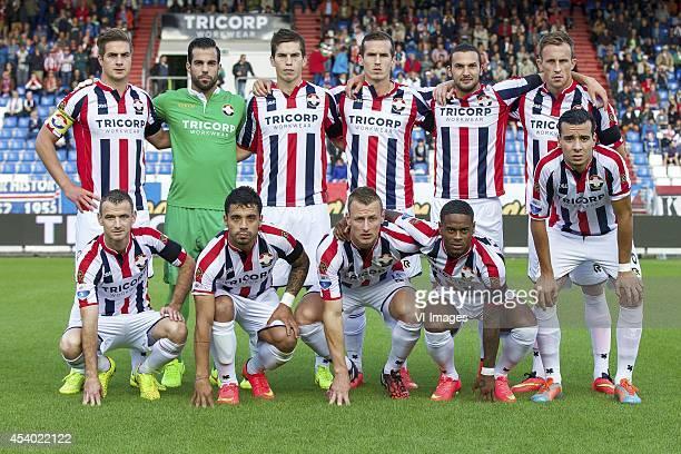 Jordens Peters of Willem II goalkeeper Kostas Lamprou of Willem II Dries Wuytens of Willem II Stijn Wuytens of Willem II Ben Sahar of Willem II Tim...