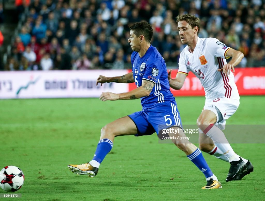 Israel vs Spain 2018 FIFA World Cup European qualifying
