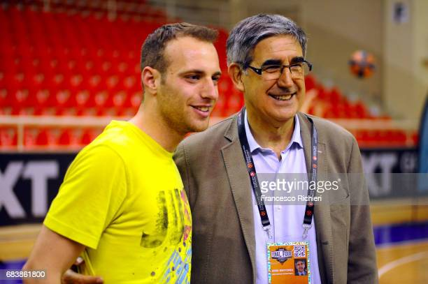 Jordi Bertomeu CEO of Euroleague Basketball during the 2017 One Team Welcome Session for Final Four Volunteers at Ahmet Comert Sports Hall on May 16...