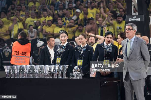 Jordi Bertomeu President Chairman and CEO of the Euroleague Basketball during the 2017 Final Four Istanbul Turkish Airlines EuroLeague Champion...
