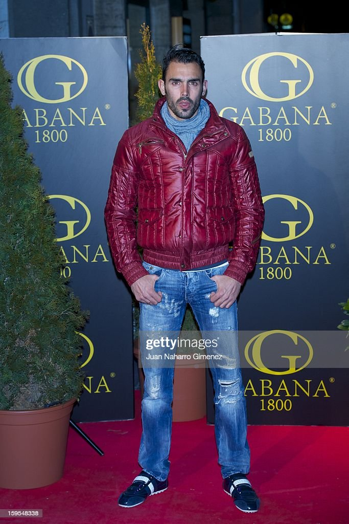Jordi Codina attends David Bustamante's dinner with friends at Gabana 1800 on January 15, 2013 in Madrid, Spain.