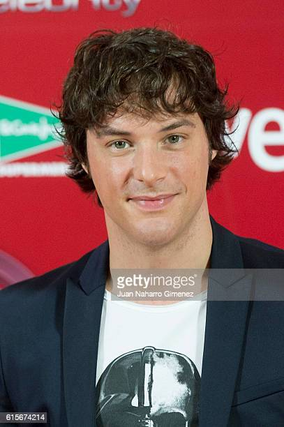 Jordi Cruz attends 'MasterChef Celebrity' photocall at Florida Retiro on October 19 2016 in Madrid Spain