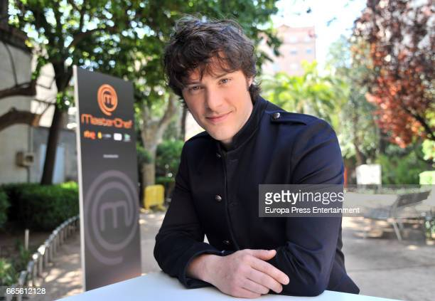 Jordi Cruz attends the presentation of MasterChef new edition on April 6 2017 in Madrid Spain