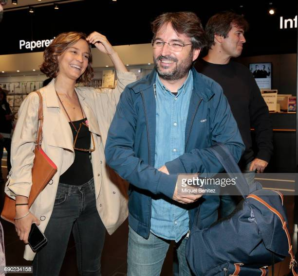 Jordi Evole attends 'Eso No Es Amor' 'That's not Love' book presentation at the Fnac Triangle on May 30 2017 in Barcelona Spain