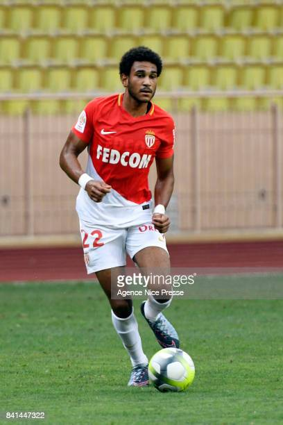 Jordi Mboula of Monaco during the friendly match between As Monaco and Nimes Olympique at Stade Louis II on August 31 2017 in Monaco Monaco