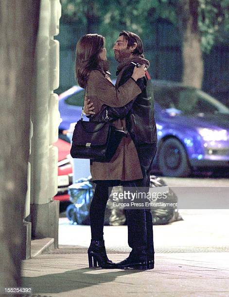 Jordi Molla and his girlfriend are seen on November 01 2012 in Madrid Spain