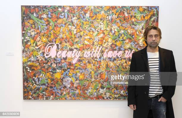 Jordi Molla presents his new painting exhibition at David Bardia Art Gallery on February 16 2017 in Madrid Spain