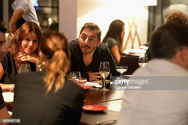 Jordi Roca attends the KLIMA Restuarant And Bar Hosts A Private Dinner For The Three Roca Brothers And Renowned Culinary Icons Joan Roca Josep Roca...