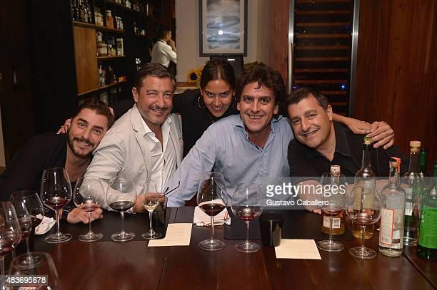 Jordi RocaJoan RocaVanessa FernandezValdesPablo FernandezValdes and Josep Roca attends the KLIMA Restuarant And Bar Hosts A Private Dinner For The...
