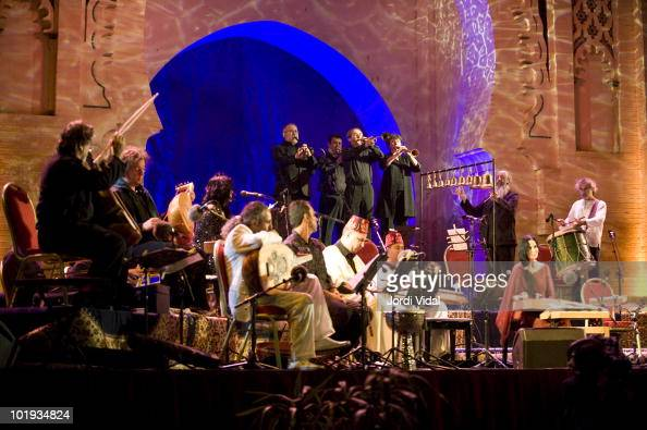 Jordi Savall performs at Bab Al Makina as part of the Fez Festival Of World Sacred Music on June 9 2010 in Fez Morocco