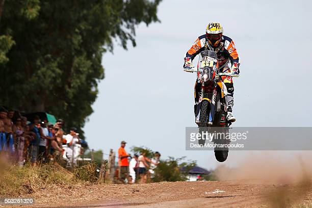 Jordi Viladoms of Spain riding on and for KTM 450 RALLY REPLICA RED BULL KTM FACTORY TEAM competes in the Dakar Rally Prologue on January 2 2016...