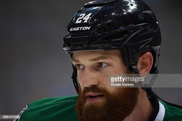 Jordie Benn of the Dallas Stars at American Airlines Center on September 29 2015 in Dallas Texas