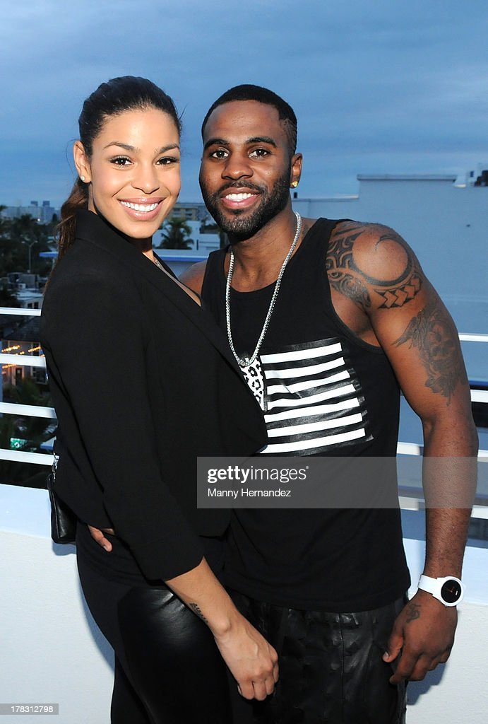 <a gi-track='captionPersonalityLinkClicked' href=/galleries/search?phrase=Jordin+Sparks&family=editorial&specificpeople=4165535 ng-click='$event.stopPropagation()'>Jordin Sparks</a> and <a gi-track='captionPersonalityLinkClicked' href=/galleries/search?phrase=Jason+Derulo&family=editorial&specificpeople=5745869 ng-click='$event.stopPropagation()'>Jason Derulo</a> attend the CIROC Amaretto Launch Event at Dream Hotel South Beach on August 27, 2013 in Miami, Florida.