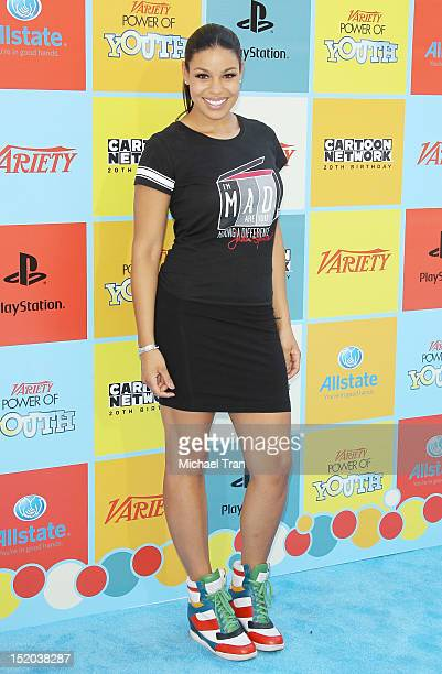 Jordin Sparks arrives at the Variety Power of Youth event held at Paramount Studios on September 15 2012 in Hollywood California