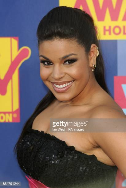 Jordin Sparks arrives for the MTV Video Music Awards 2008 at Paramount Studios Hollywood Los Angeles California