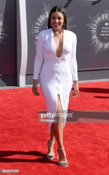Jordin Sparks arriving at the MTV Video Music Awards 2014 at The Forum in Inglewood Los Angeles