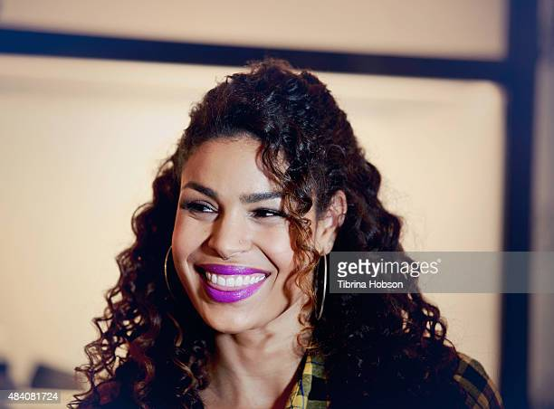Jordin Sparks attends a fan meet and greet to celebrate her new album 'Right Here Right Now' at Glendale Galleria on August 14 2015 in Glendale...
