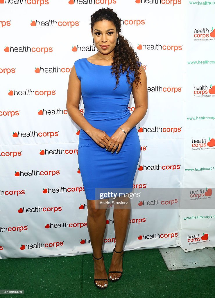 Jordin Sparks attends HealthCorp's 9th Annual Gala at Cipriani Wall Street on April 29 2015 in New York City