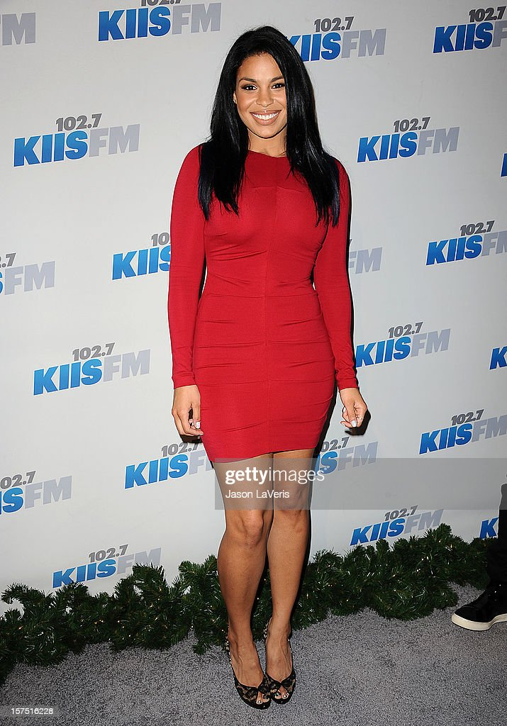 Jordin Sparks attends KIIS FM's Jingle Ball 2012 at Nokia Theatre LA Live on December 3, 2012 in Los Angeles, California.