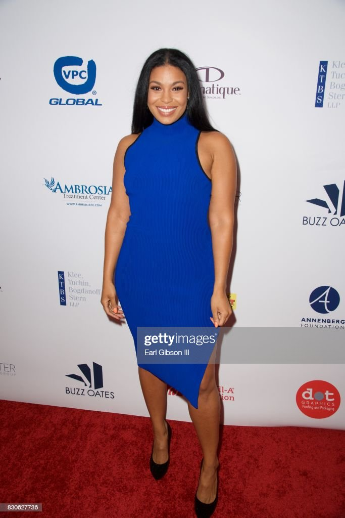 Jordin Sparks attends the 17th Annual Harold & Carole Pump Foundation Gala at The Beverly Hilton Hotel on August 11, 2017 in Beverly Hills, California.