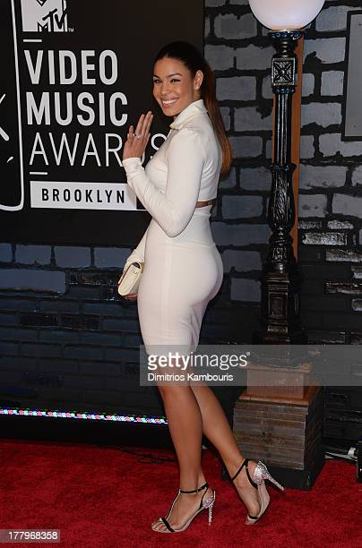 Jordin Sparks attends the 2013 MTV Video Music Awards at the Barclays Center on August 25 2013 in the Brooklyn borough of New York City