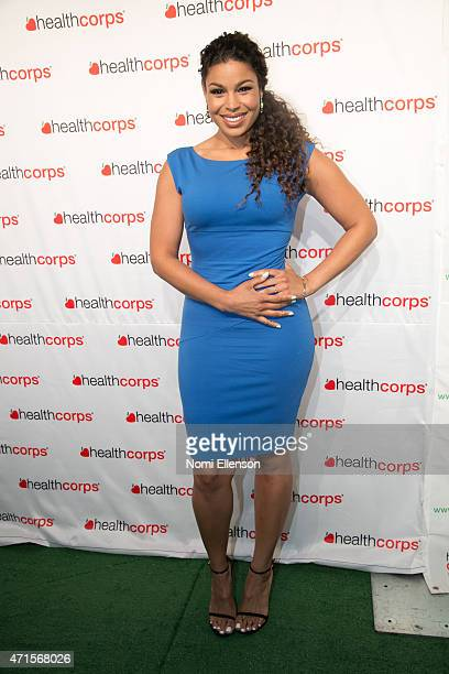 Jordin Sparks attends the 9th Annual HealthCorps' Gala at Cipriani Wall Street on April 29 2015 in New York City