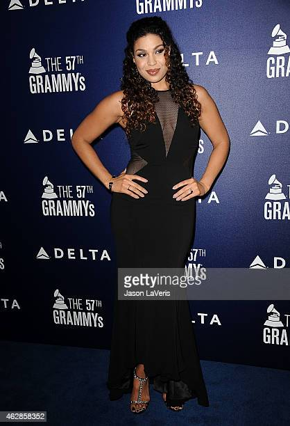 Jordin Sparks attends the Delta Air Lines toast to the 2015 GRAMMY weekend at Soho House on February 5 2015 in West Hollywood California