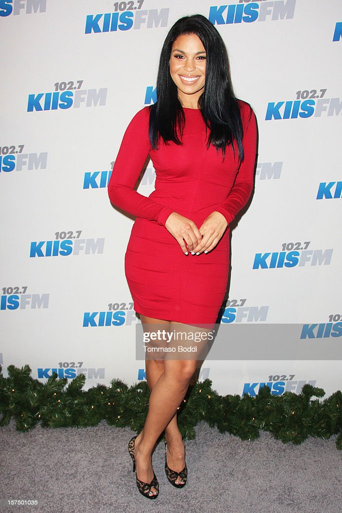 Jordin Sparks attends the KIIS FM's Jingle Ball 2012 held at Nokia Theatre LA Live on December 3, 2012 in Los Angeles, California.