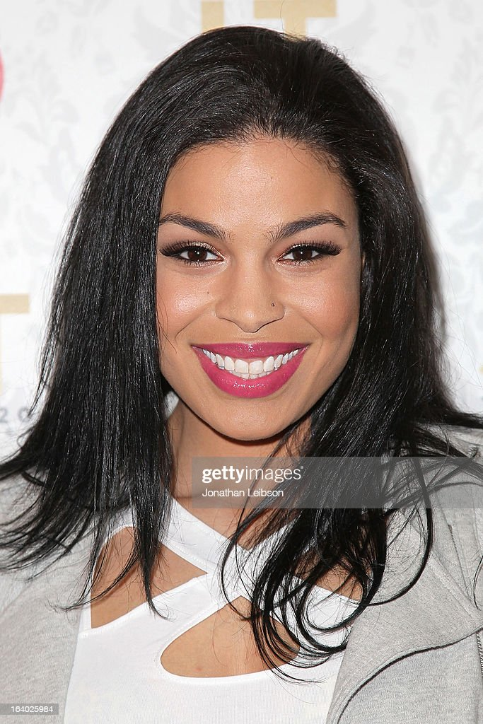 Jordin Sparks attends the Target Presents The iHeartRadio '20/20' Album Release Party With Justin Timberlake at El Rey Theatre on March 18, 2013 in Los Angeles, California.