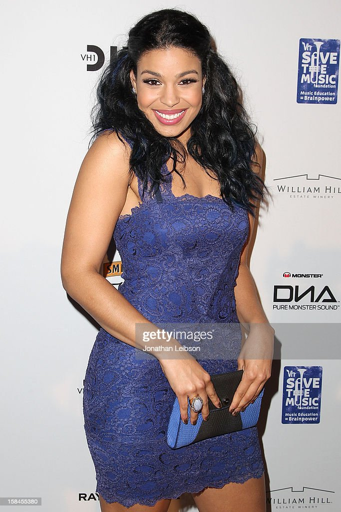 Jordin Sparks attends the VH1 Divas After Party To Benefit The VH1 Save The Music Foundation at The Shrine Auditorium on December 16, 2012 in Los Angeles, California.