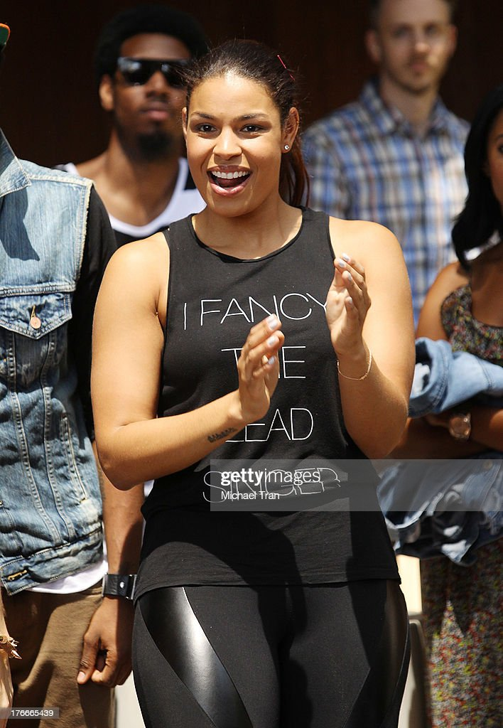Jordin Sparks attends the Warner Bros Records Summer Sessions held at Warner Bros Records outdoor patio on August 16 2013 in Burbank California