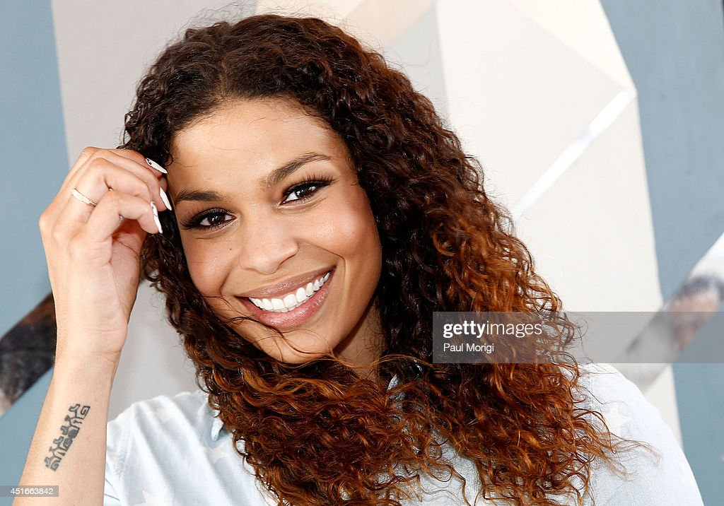 <a gi-track='captionPersonalityLinkClicked' href=/galleries/search?phrase=Jordin+Sparks&family=editorial&specificpeople=4165535 ng-click='$event.stopPropagation()'>Jordin Sparks</a> poses for a photo backstage at PBS's 2014 A CAPITOL FOURTH rehearsals at U.S. Capitol, West Lawn on July 3, 2014 in Washington, DC.