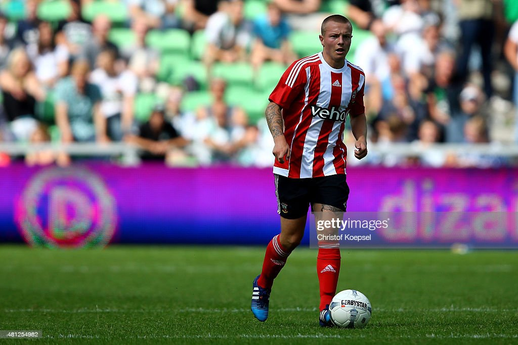 <a gi-track='captionPersonalityLinkClicked' href=/galleries/search?phrase=Jordy+Clasie&family=editorial&specificpeople=7012011 ng-click='$event.stopPropagation()'>Jordy Clasie</a> of FC Southampton runs with the ball during the friendly match between FC Groningen and FC Southampton at Euroborg Arena on July 18, 2015 in Groningen, Netherlands.