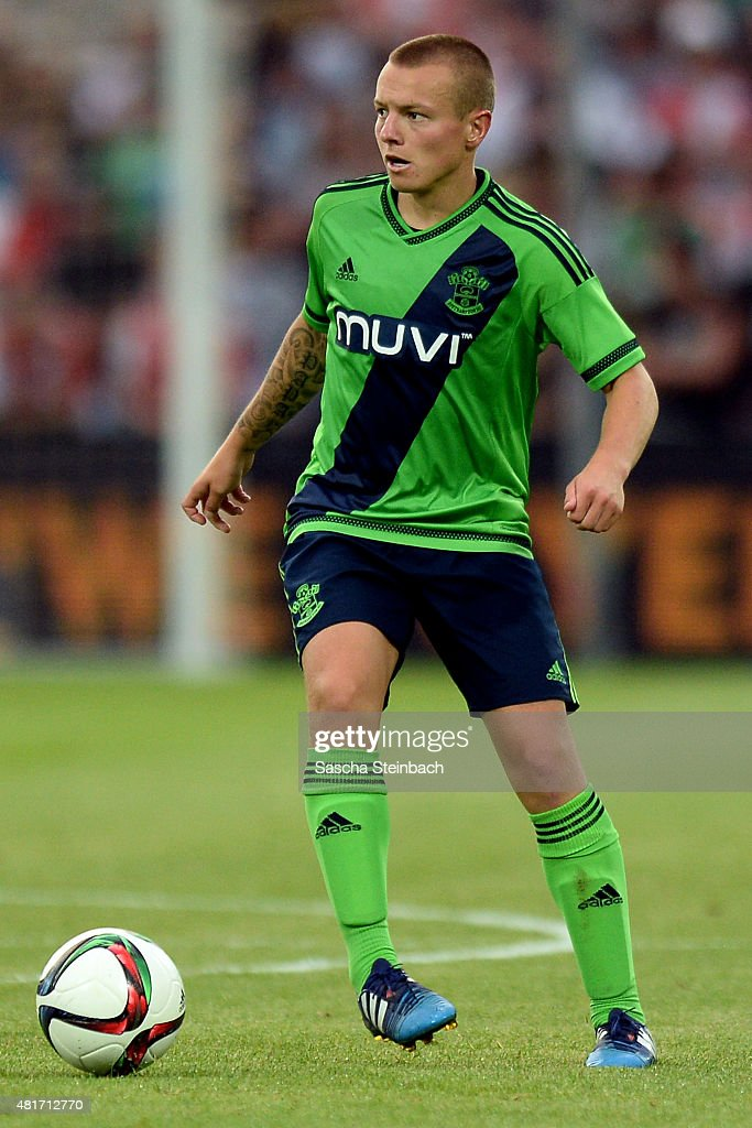 <a gi-track='captionPersonalityLinkClicked' href=/galleries/search?phrase=Jordy+Clasie&family=editorial&specificpeople=7012011 ng-click='$event.stopPropagation()'>Jordy Clasie</a> of Southampton runs with the ball during the pre season friendly match between Feyenoord Rotterdam and Southampton FC at De Kuip on July 23, 2015 in Rotterdam, Netherlands.