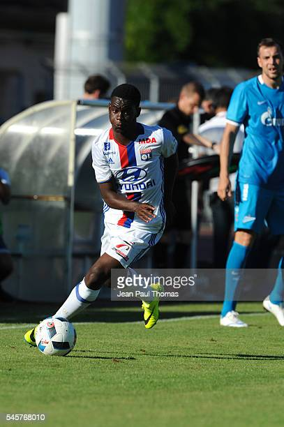Jordy GASPAR of Lyon during the friendly game between Olympique Lyonnais Lyon and Zenit St Petersburg on July 9 2016 in ThononlesBains France