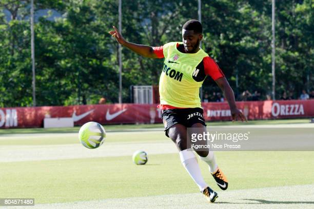 Jordy Gaspar of Monaco during training session of As Monaco on June 30 2017 in Monaco Monaco