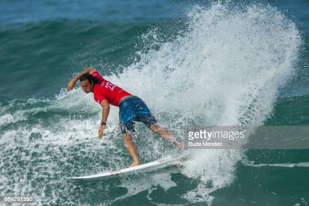 Jordy Smith of South Africa surfs during the heats 2 Round 2 of the Oi Rio Pro 2017 at Itauna Beach on May 17 2017 in Saquarema Brazil