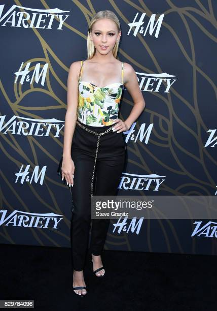 Jordyn Jones arrives at the Variety Power Of Young Hollywood at TAO Hollywood on August 8 2017 in Los Angeles California