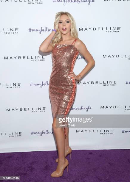Jordyn Jones attends Maybelline's Los Angeles Influencer Launch Event at 1OAK on August 10 2017 in West Hollywood California