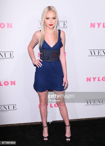 Jordyn Jones attends the NYLON Young Hollywood Party at AVENUE Los Angeles on May 2 2017 in Los Angeles California